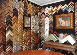 Custom Frame Selection at Repenning Fine Arts
